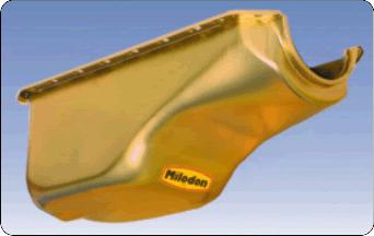 Milodon 30762, 5 qt Stock Replacement Engine Oil Pan For Mopar Early Hemi Engine
