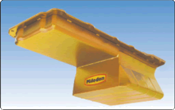 Milodon 30916 Low Profile Oil Pan For 1955-57 Chevy LS-Series Engine