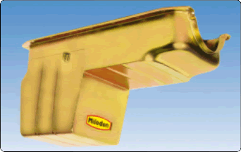 Milodon 30985 Off-Road Rear Sump Oil Pan For Chrysler 360 Engine