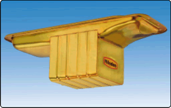 Milodon 31010 Hemi Deep Sump Pan For BB Chrysler Engine