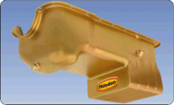 Milodon 31126, 7 qt Street/Strip Engine Oil Pan For Small Block Ford Engine