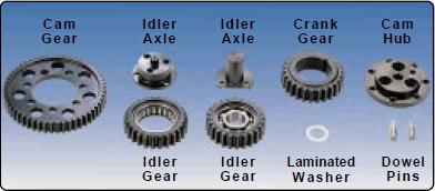 Milodon 12558 Laminated Shim Washers For Geardrive 12250/12700/12708/12900/13250
