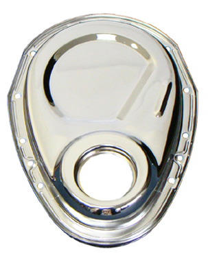 Small Block Chevy Chrome Timing Cover