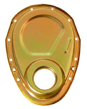 Small Block Chevy Gold Timing Cover